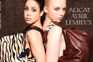 Alicat Avril Lemieux photo by Keena Gonzalez featuring Chantele DiBrava