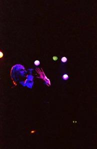 Johnny Indovina with Human Drama at the Troubadour photo by Keena Gonzalez