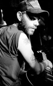 Ben Nichols of Lucero at The Casbah photo by Keena Gonzalez