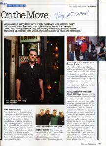Beau Jennings photo by Keena Gonzalez in Oklahoma Today magazine