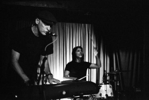 Goldenboy and Bryan Bos at Silverlake Lounge image by Keena Gonzalez