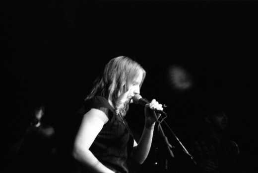 Nicole Verhamme performing with Goldenboy image by Keena Gonzalez