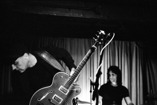Goldenboy and Bryan Bos at Silverlake Lounge image by Keena Gonzalez